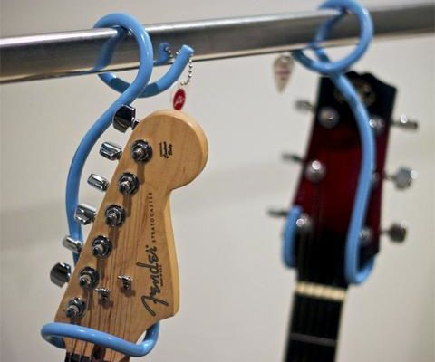 Store your guitar in the closet