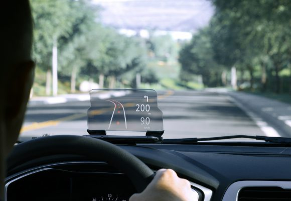 GPS right on your windshield
