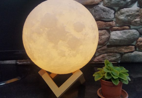 Full moon – right in your living room