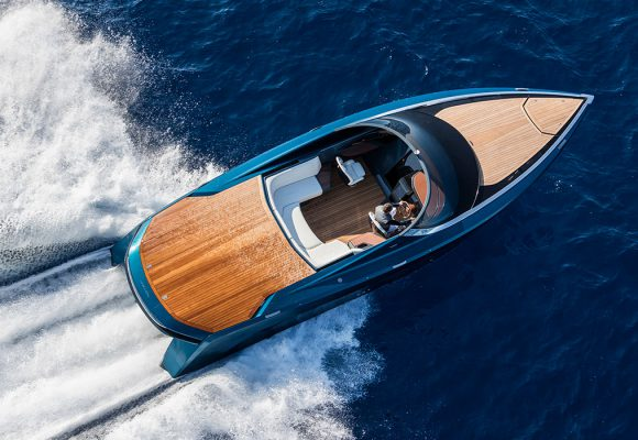Aston Martin meets your need for speed on the sea