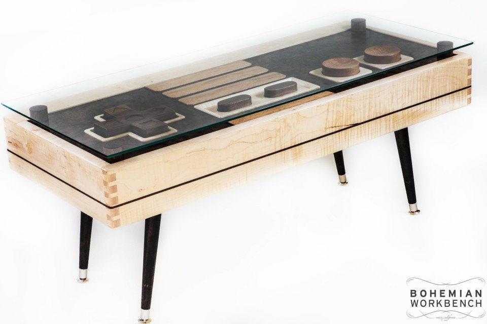 Nintendo retro gaming table