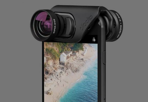 Improve your iPhone photos with a clip-on lens