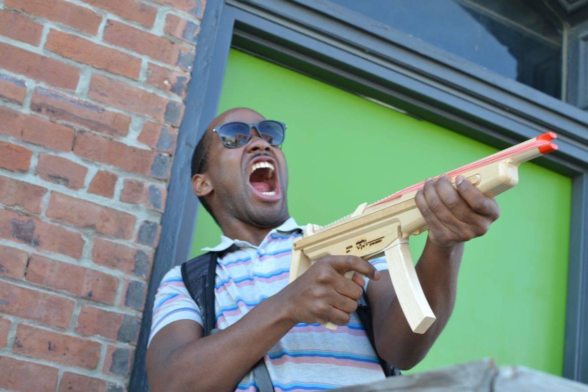 MP5 rubber band gun