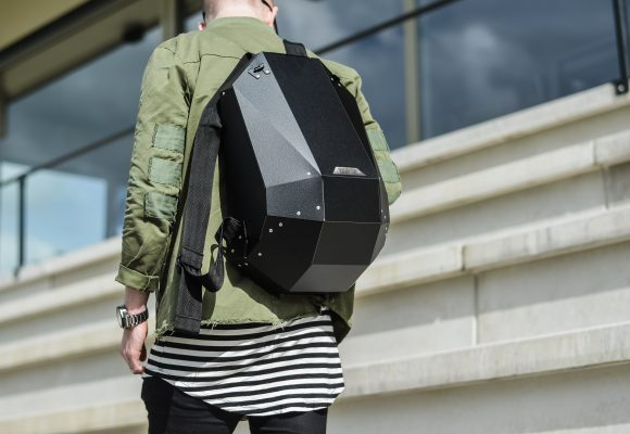 Protect your stuff on the go with a hardshell backpack