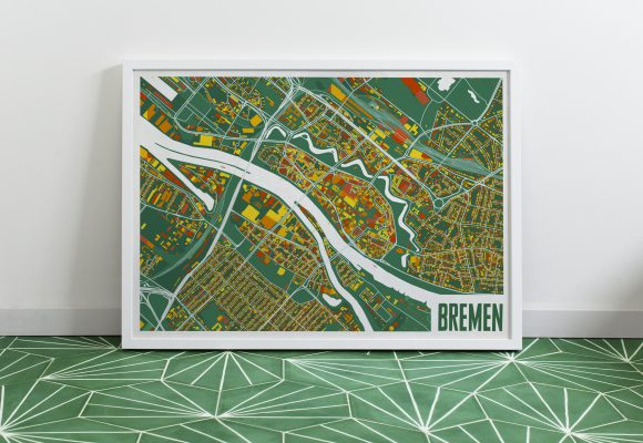 Design your own map poster