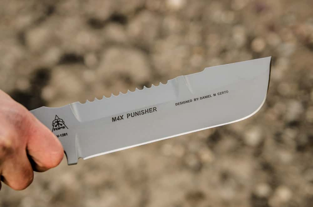 M4X Punisher knife