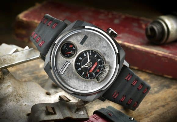 Limited edition watch made from a Ford Mustang