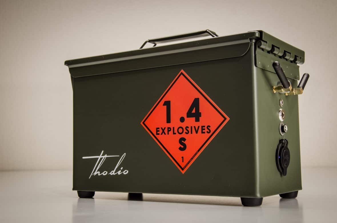 Thodio .50 CAL A-BOX - ammo can speaker