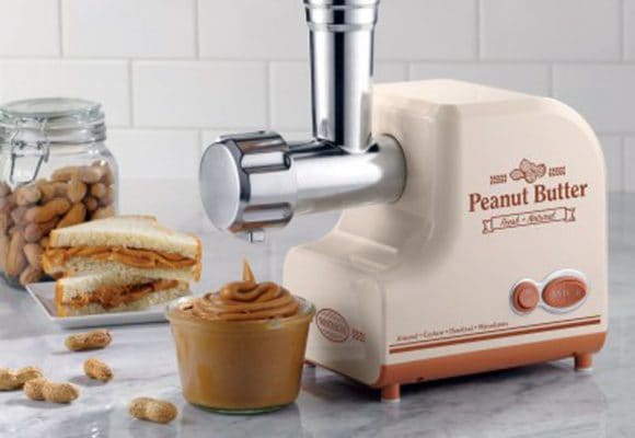 Make your own peanut butter – or any nut butter