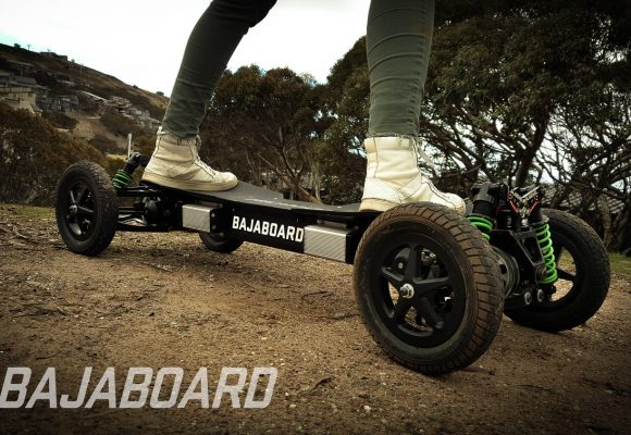 A skateboard for the lazy – or the thrill-seekers