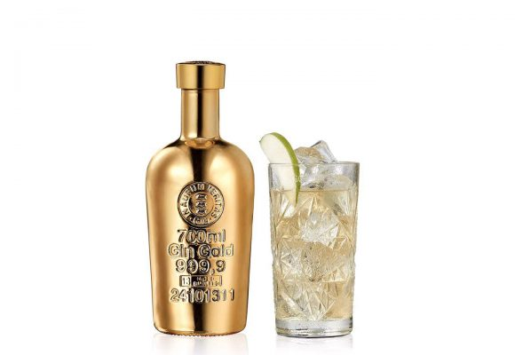 Your gin deserves a little gold